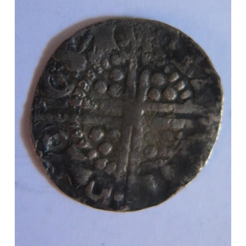 482 - A King John Hammered Silver Penny