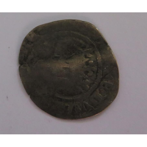 490 - An Edward II Hammered Silver Penny