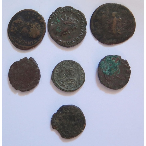 496 - A Selection of Antiquarian Coins
