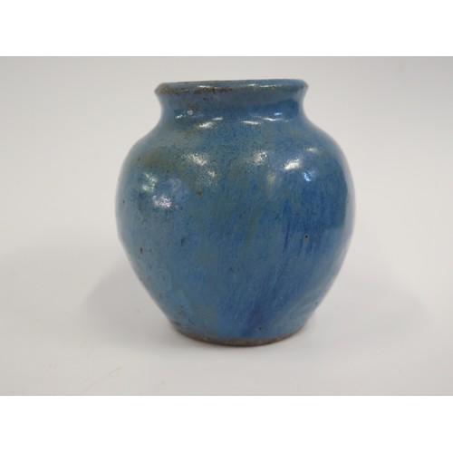 1235b - A Soon Pottery Vase, 10.5cm