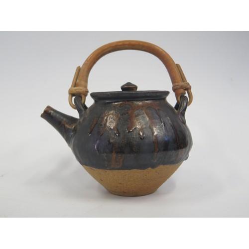 1235a - A William Marshall Stoneware Teapot