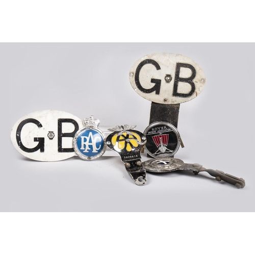 19 - COLLECTION OF VEHICLE BADGES...