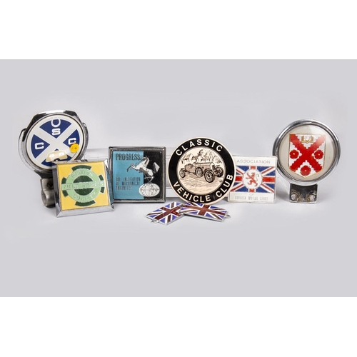 22 - COLLECTION OF VEHICLE BADGES...