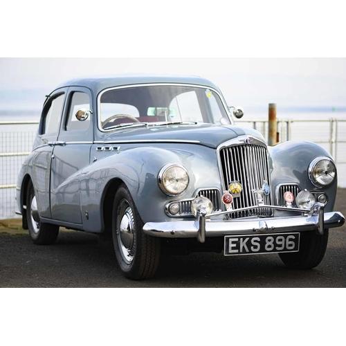 3 - 1955 SUNBEAM TALBOT SUPREME MOTOR CAR, Registration EKS 896, 2267cc, petrol, colour grey The good co...