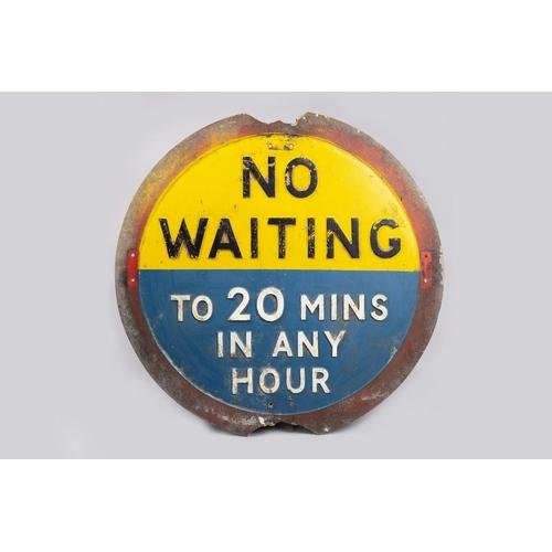 31 - NO WAITING SIGN...