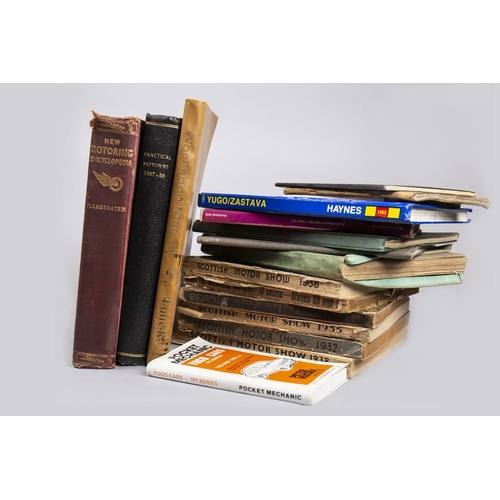 36 - COLLECTION OF MOTORING BOOKS...