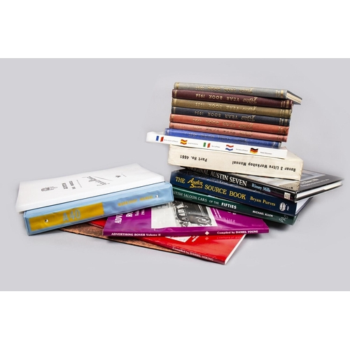40 - COLLECTION OF MOTORING BOOKS...