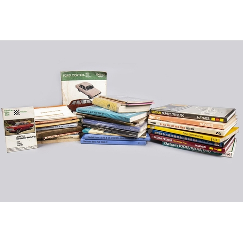 41 - COLLECTION OF MOTORING BOOKS...