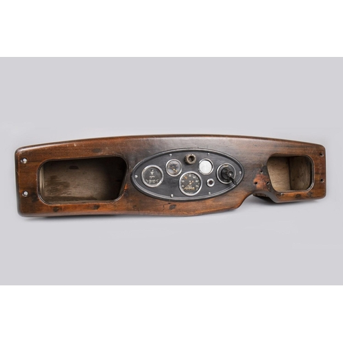 47 - CAR DASHBOARD WITH INSTRUMENT PANEL...
