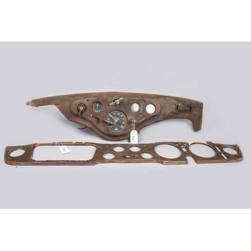 49 - FORD DASHBOARD WITH INSTRUMENT PANEL AND A DASHBOARD FRAME...