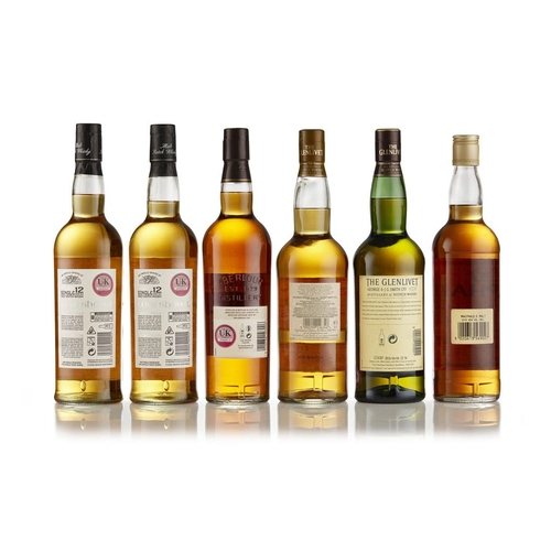 10 - GLENLIVET NADURRA 16 YEAR OLD <br> <br>in carton, 70cl / 55.1%; GLENLIVET FRENCH OAK RESERVE 15YEAR ...