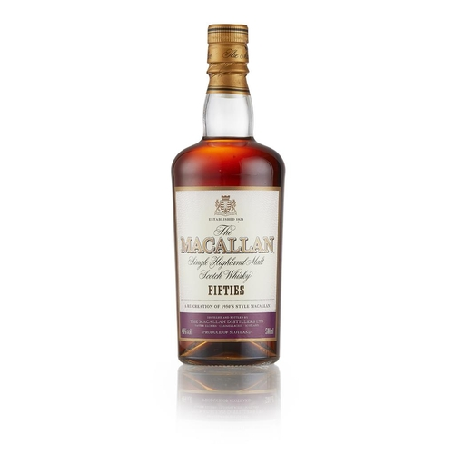 23 - THE MACALLAN 'FIFTIES' DECADES EDITION <br> <br>with carton <br> <br>50cl/ 40%...