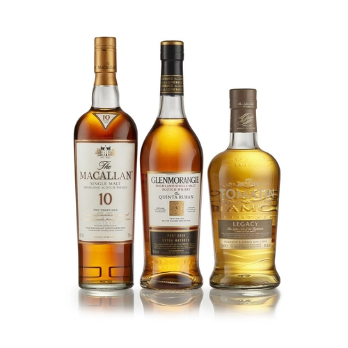 28 - THE MACALLAN 10 YEAR OLD <br> <br>exclusively matured in sherry casks from Jerez, Spain, with carton...