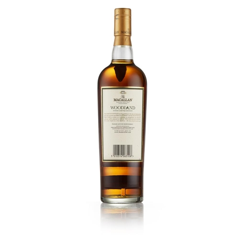 30 - THE MACALLAN WOODLAND 12 YEAR OLD <br> <br>bottle number 256 of 1000, matured in sherry casks from J...