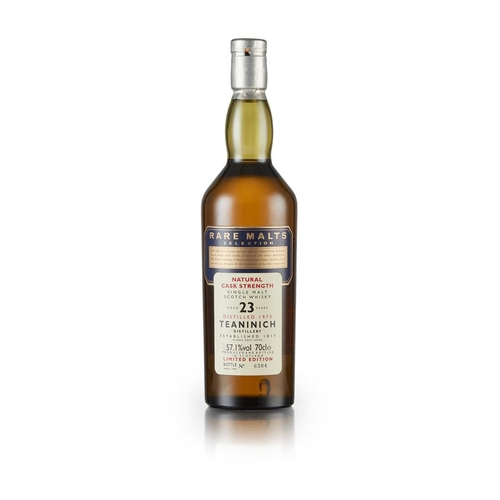 44 - TEANINICH 1973 23 YEAR OLD - RARE MALTS SELECTION <br> <br>DISTILLERY ACTIVE  <br> <br>limited editi...