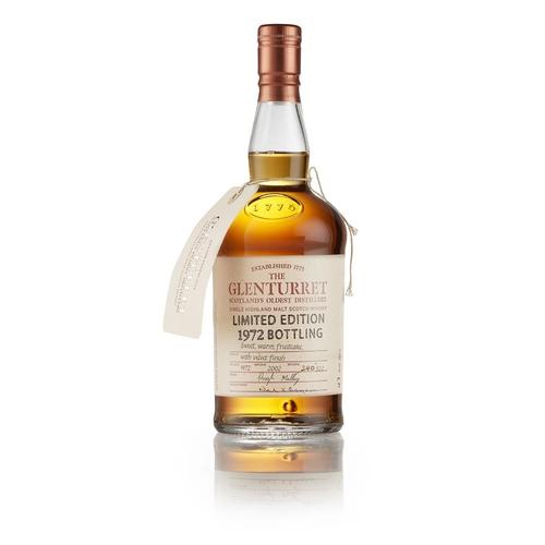 52 - GLENTURRET 1972 LIMITED EDITION BOTTLING <br> <br>bottled in 2002, bottle number 240 of 522, with pr...
