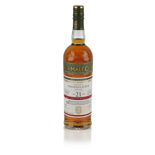 601 - CRAIGELLACHIE 1995 21 YEAR OLD - OLD MALT CASK <br> <br>bottled in 2017, one of 587 bottles, with ca...
