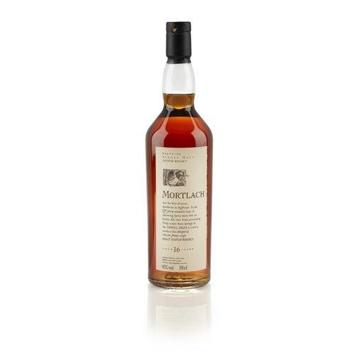 606 - MORTLACH 16 YEAR OLD - FLORA AND FAUNA <br> <br>70cl/ 43% <br>Note: Although by no means the oldest ...
