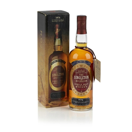611 - THE SINGLETON 1976 <br> <br>with import label for Jerez, Spain <br> <br>75cl/ 43%...