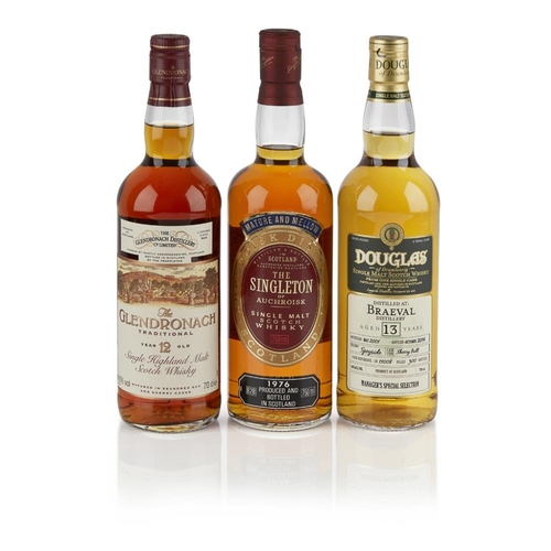 613 - BRAEVAL 2001 13 YEAR OLD - DOUGLAS OF DRUMLANRIG <br> <br>bottled 2014, cask 11008, one of 300 bottl...