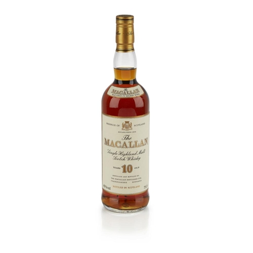 623 - THE MACALLAN 10 YEAR OLD (1990S) <br> <br>matured in sherry casks, with carton <br> <br>75cl/ 40%...
