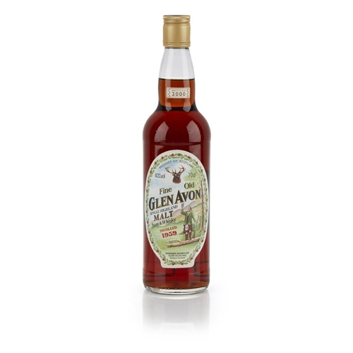 632 - GLEN AVON 1959 <br> <br>bottled in 2000 <br> <br>70cl/ 40% <br>Note: One of Gordon & MacPhail's 'mys...