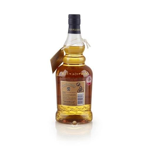 639 - OLD PULTENEY 1983 21 YEAR OLD <br> <br>limited edition, non-chill filtered, with carton <br> <br>70c...