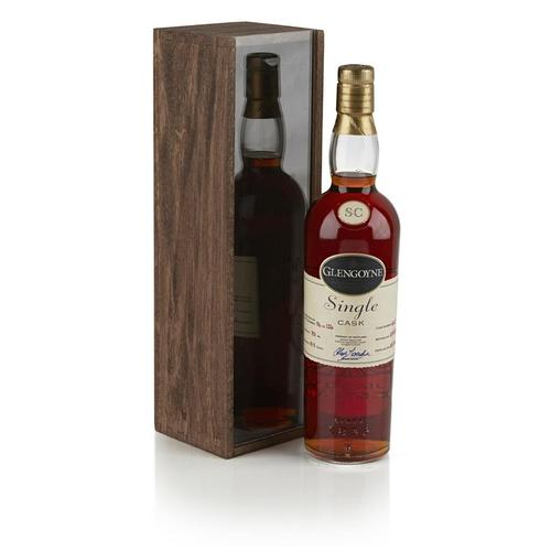 642 - GLENGOYNE SINGLE CASK 1968 <br> <br>bottled in 2002, cask number 4620, bottle number 94 of 126, with...