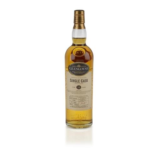 645 - GLENGOYNE 1997 14 YEAR OLD SINGLE CASK <br> <br>matured in bourbon hogshead, bottled in 2011, cask n...