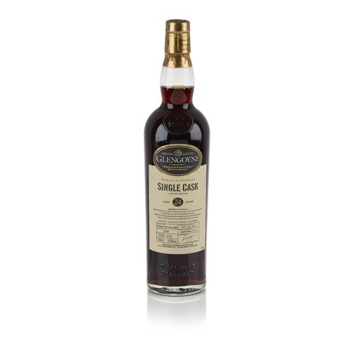 646 - GLENGOYNE 1987 24 YEAR OLD SINGLE CASK <br> <br>matured in a sherry butt, bottled in 2011, cask numb...