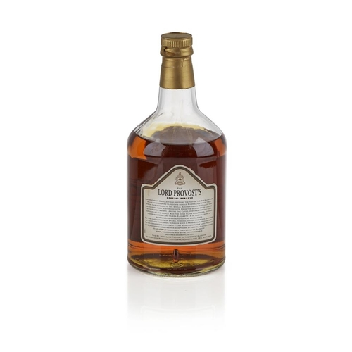 654 - AUCHENTOSHAN 21 YEAR OLD - THE LORD PROVOST'S SPECIAL RESERVE <br> <br>with presentation case <br> <...