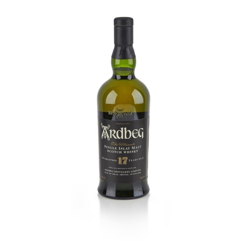 657 - ARDBEG GUARANTEED 17 YEAR OLD <br> <br>with carton <br> <br>70cl/ 40%...
