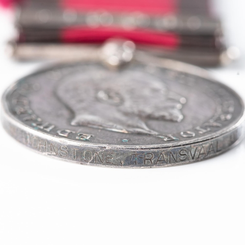 16 - NATAL 1906 ZULU REBELLION TO TRANSVAAL MOUNTED RIFLES Natal 1906 medal with bar 1906 officially impr...