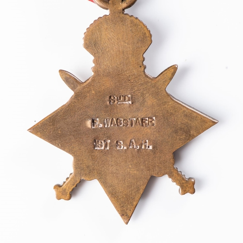 21 - GERMAN EAST AFRICA WWI TRIO.  1914-15 STAR BRITISH WAR MEDAL & VICTORY MEDAL All officially named to...