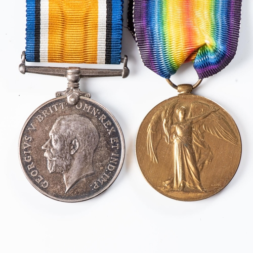 23 - RARE WWI GERMAN EAST AFRICA AND PALESTINE MOTOR CYCLE CORPS MEDAL PAIR To Gunner RHH Buck, British W...
