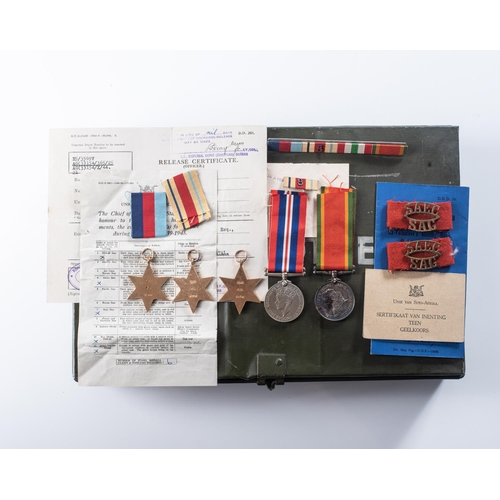 39 - MAU MAU REBELLION PALESTINE AND KENYA POLICE OFFICER'S GROUPING General Service Medal (George VI) ba...