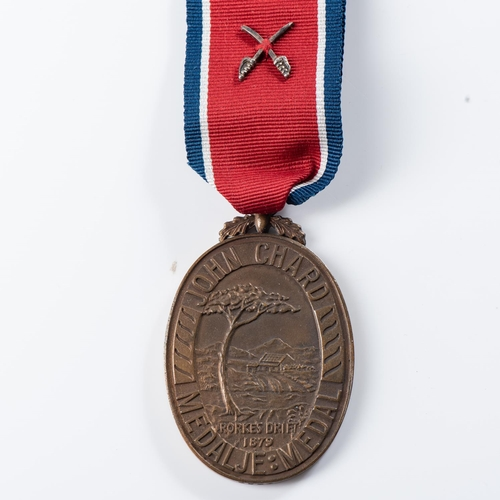 44 - JOHN CHARD MEDAL (REPUBLIC ISSUE COAT OF ARMS) John Chard Medal (Republic Issue Coat of Arms) number...