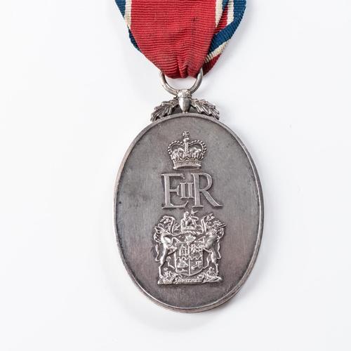 45 - JOHN CHARD DECORATION (EIIR CYPHER) John Chard Decoration (EIIR Cypher). Elizabeth II issue.  Number...
