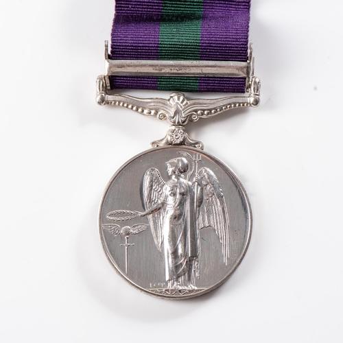 56 - GENERAL SERVICE MEDAL (ELIZABETH II) CLASP CYPRUS General Service Medal (Elizabeth II) clasp Cyprus ...