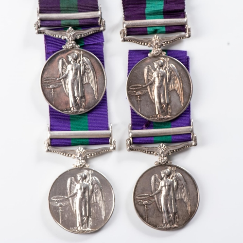 57 - GENERAL SERVICE MEDAL (GEORGE VI) CLASP MALAYA General Service Medal (George VI) clasp Malaya – Lo...