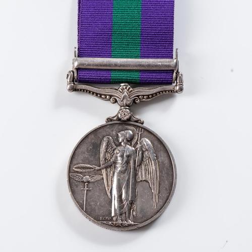59 - GENERAL SERVICE MEDAL (ELIZABETH II) CLASP MALAYA General Service Medal (Elizabeth II) clasp Malaya ...