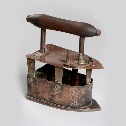54 - A CAPE COPPER IRON, 19TH CENTURY...