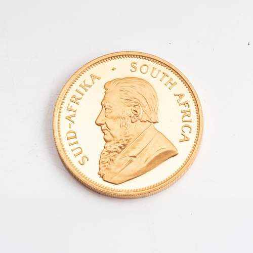 107 - A GOLD PROOF KRUGERRAND 1 OZ  OUNCE BOXED Minted 1985