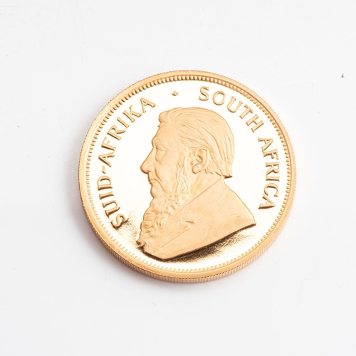 108 - A GOLD PROOF KRUGERRAND 1 OZ  OUNCE BOXED Minted 1986