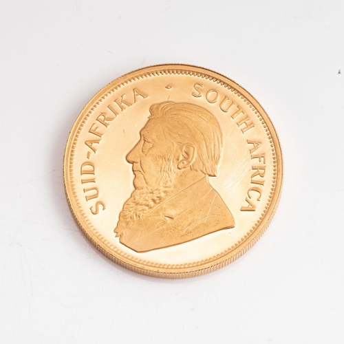 109 - A GOLD PROOF KRUGERRAND 1 OZ  OUNCE BOXED Minted 1987