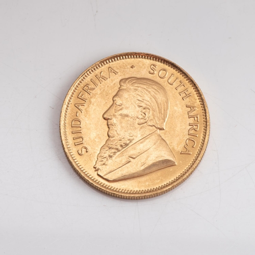118 - A GOLD PROOF KRUGERRAND 1/2 OZ  OUNCE BOXED Minted 1987