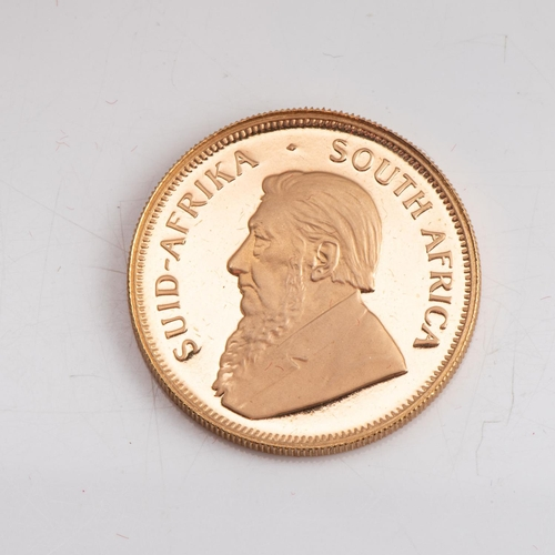 120 - A GOLD PROOF KRUGERRAND 1/2 OZ  OUNCE BOXED Minted  1984