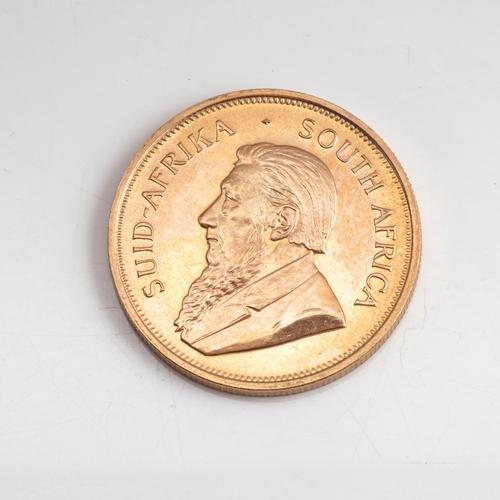 55 - A GOLD KRUGERRAND 1 OZ Minted 1973