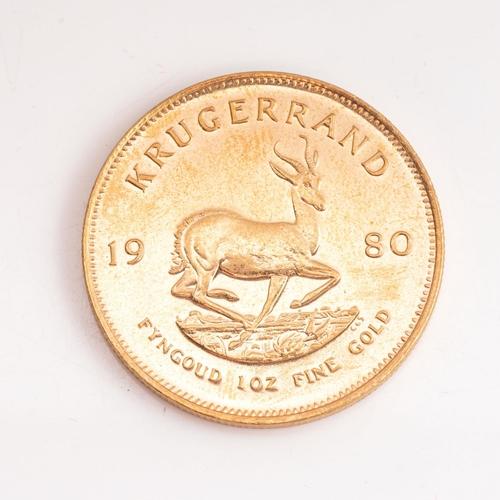 61 - A GOLD KRUGERRAND 1 OZ Minted 1980