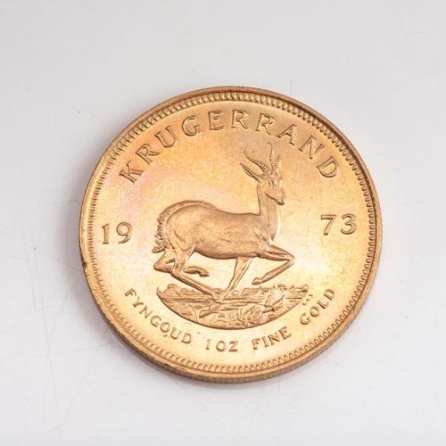 63 - A GOLD KRUGERRAND 1 OZ Minted 1973